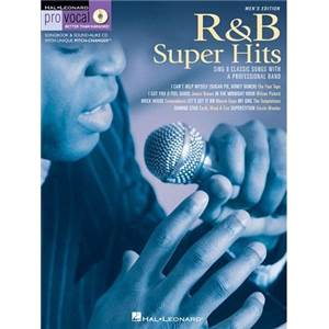 COMPILATION - PRO VOCAL FOR MALE SINGERS VOL.06 R&B SUPER HITS + CD