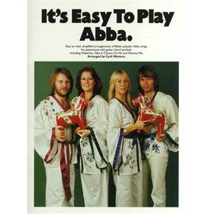 ABBA - IIT'S EASY TO PLAY PIANO CHANT