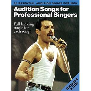 COMPILATION - AUDITION SONGS FOR MALE SINGERS : 28 ESSENTIAL SONGS + CD