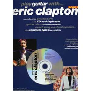 CLAPTON ERIC - PLAY GUITAR WITH...VOL.2 + CD
