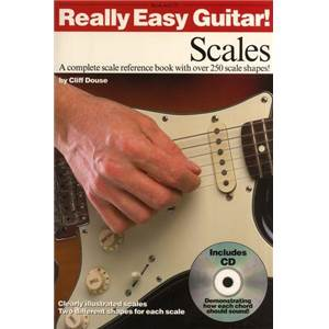 DOUSE CLIFF - REALLY EASY GUITAR SCALES + CD
