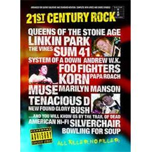COMPILATION - 21ST CENTURY ROCK VOL.2 GUIT.TAB