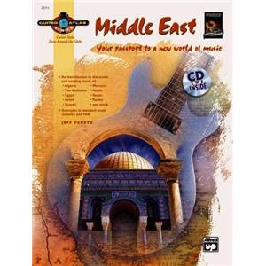 PERETZ JEFF - GUITAR ATLAS MIDDLE EAST YOUR PASSPORT TO A NEW WORLD OF MUSIC + CD