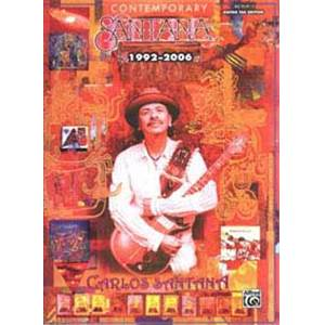 SANTANA CARLOS - CONTEMPORARY 1992 2006 GUITAR TAB