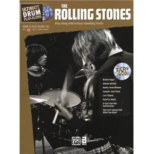 ROLLING STONES - ULTIMATE DRUM PLAY ALONG + CD
