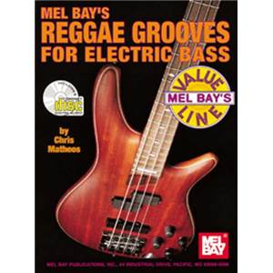MATHEOS CHRIS - REGGAE GROOVES BASS TAB. + CD