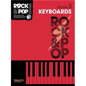COMPILATION - TRINITY COLLEGE LONDON : ROCK & POP GRADE 3 FOR KEYBOARD + CD