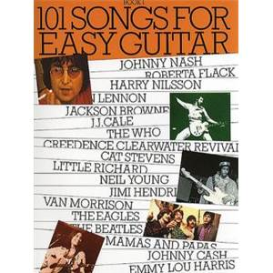 COMPILATION - 101 SONGS FOR EASY GUITAR VOL.1