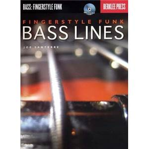 SANTERRE JOE - BASS LINES FINGERSTYLE FUNK + CD