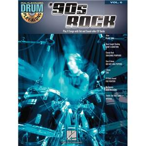 COMPILATION - DRUM PLAY ALONG 90S ROCK VOL.6 + CD