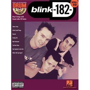 BLINK 182 - DRUM PLAY ALONG VOL.10 + CD