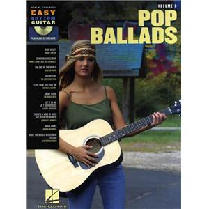 COMPILATION - EASY RHYTHM GUITAR VOL.8 POP BALLADS + CD