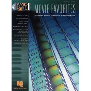 COMPILATION - PIANO DUET PLAY ALONG VOL.02 MOVIE FAVOURITES + CD