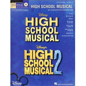 COMPILATION - PRO VOCAL FOR MALE SINGERS VOL.28 HIGH SCHOOL MUSICAL 1 AND 2 + CD