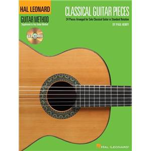 HAL LEONARD - GUITAR METHOD CLASSICAL GUITAR 24 PIECES + CD
