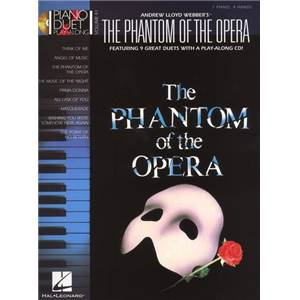 WEBBER ANDREW LLOYD - PIANO DUET PLAY ALONG VOL.41 PHANTOM OF THE OPERA + CD