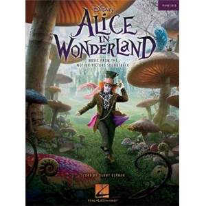 ELFMAN DANNY - ALICE IN WONDERLAND PIANO SOLO