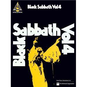 BLACK SABBATH - VOL.4 GUITAR TAB.