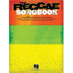 COMPILATION - THE REGGAE SONGBOOK P/V/G