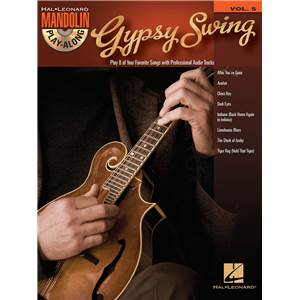 COMPILATION - MANDOLIN PLAY-ALONG VOL.05 GYPSY SWING + CD