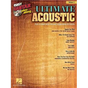 COMPILATION - EASY GUITAR PLAY ALONG VOL.005 ULTIMATE ACOUSTIC TAB. + CD