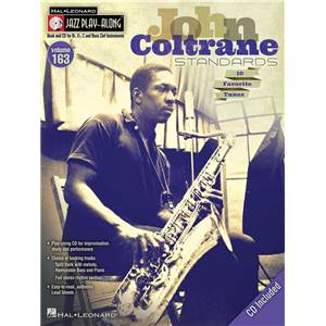 COLTRANE JOHN - JAZZ PLAY ALONG VOL.163 + CD