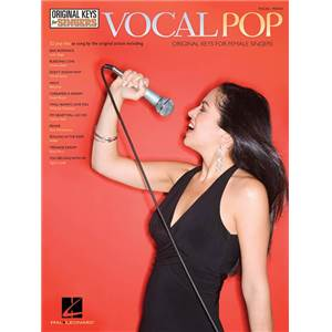 COMPILATION - VOCAL POP ORIGINAL KEYS FOR FEMALE SINGERS P/V/G ÉPUISÉ