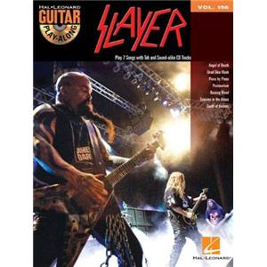 SLAYER - GUITAR PLAY ALONG VOL.156 + CD