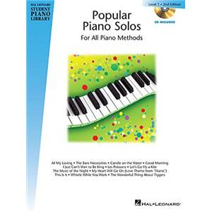 COMPILATION - HAL LEONARD STUDENT PIANO LIBRARY MORE POPULAR PIANO SOLOS GRADE 1 + CD