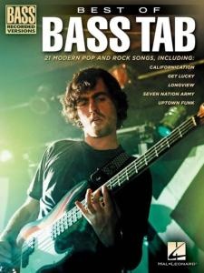 COMPILATION - BEST OF BASS TAB. 21  BASS ROCK FAVORITES