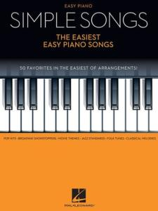 COMPILATION - SIMPLE SONGS : THE EASIEST EASY PIANO SONGS