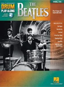 BEATLES - DRUM PLAYALONG THE BEATLES VOL.15 + ONLINE AUDIO ACCESS