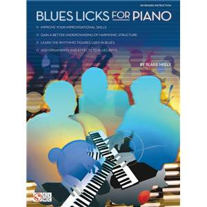NEELY BLAKE - BLUES LICKS FOR PIANO