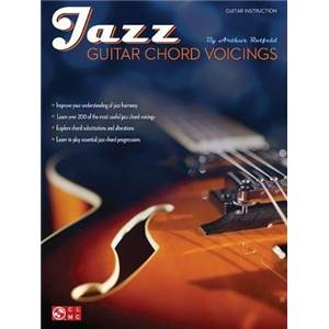 ROTFELD ARTHUR - JAZZ GUITAR CHORD VOICINGS