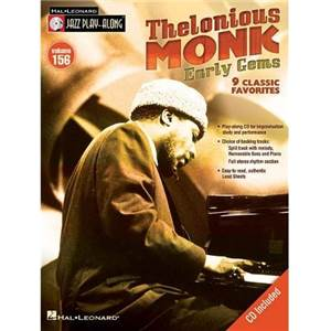 MONK THELONIOUS - JAZZ PLAY ALONG VOL.156 EARLY GEMS + CD