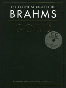 BRAHMS - GOLD ESSENTIAL PIANO COLLECTION + CD