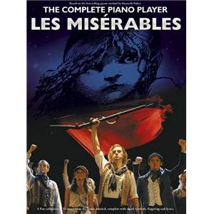 BOUBLIL / SCHONBERG - LES MISERABLES COMPLETE PIANO PLAYER