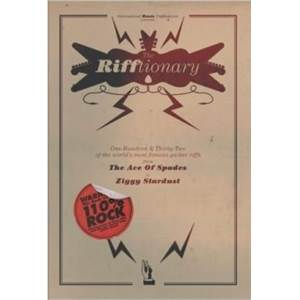 COMPILATION - RIFFTIONARY GUITAR (CHORD SONGBOOK)