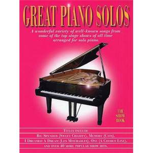 COMPILATION - GREAT PIANO SOLOS SHOW BOOK