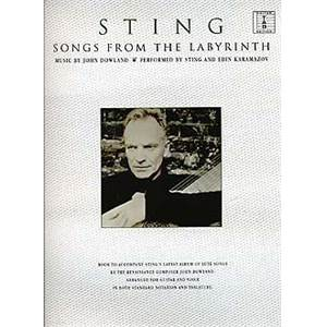 STING - SONGS FROM THE LABYRINTH GUITAR TAB.
