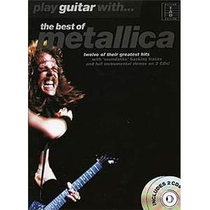 METALLICA - BEST OF PLAY GUITAR WITH +2CD