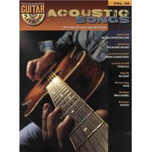 COMPILATION - GUITAR PLAY ALONG VOL.069 ACOUSTIC SONGS + CD