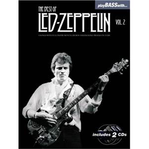 LED ZEPPELIN - BEST OF VOL.2 PLAY BASS WITH + CD