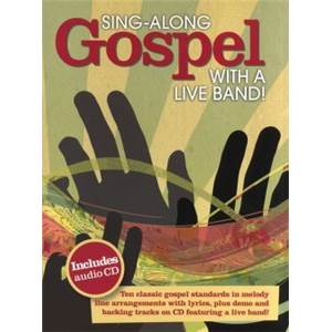COMPILATION - SING ALONG GOSPEL WITH A LIVE BAND + CD