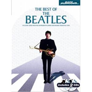 BEATLES THE - PLAY BASS WITH THE BEST OF + 2CD