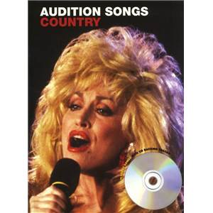 COMPILATION - AUDITION SONGS FOR FEMALE SINGERS : COUNTRY + CD