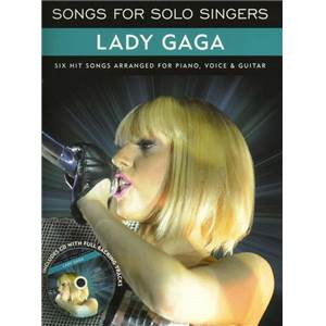 LADY GAGA - SONGS FOR SOLO SINGERS + CD