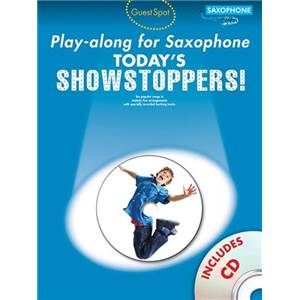 COMPILATION - GUEST SPOT TODAY'S SHOWSTOPPERS POUR SAXOPHONE + CD