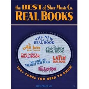 COMPILATION - THE BEST OF SHER MUSIC CO REAL BOOKS BB (100 TUNES YOU NEED TO KNOW)