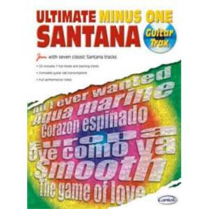 SANTANA CARLOS - ULTIMATE MINUS ONE VOL.1 GUITAR TRAX + CD